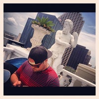 Photo taken at Le Pavillon rooftop pool by 👷 Dr Hoolin 🚑 on 8/6/2012
