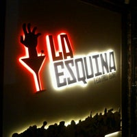 Photo taken at La Esquina Teatro Bar by Leandro R. on 4/14/2012