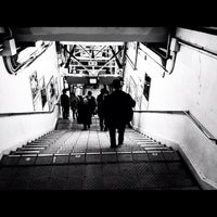 Photo taken at Okubo Station by hapi3 a. on 3/30/2012