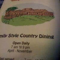 Photo taken at Shatley Springs Inn and Restaurant by Dakota J. on 4/6/2012