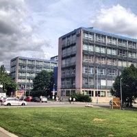 Photo taken at ČVUT FEL (T2) by Tomas L. on 6/22/2012