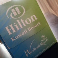 Photo taken at Hilton Kuwait Resort by Anwar A. on 6/19/2012