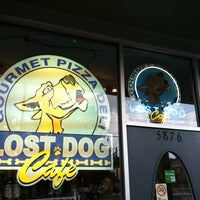 Photo taken at Lost Dog Cafe by Brian on 7/28/2012