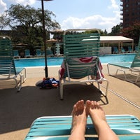 Photo taken at The Towers Pool by Maria G. on 8/16/2012