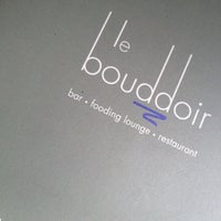 Photo taken at Le Bouddoir by Alain A. on 5/24/2012