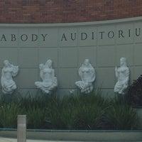 Photo taken at Peabody Auditorium by Summer K. on 7/19/2012