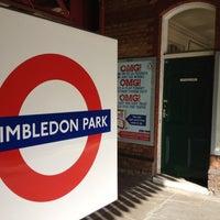 Photo taken at Wimbledon Park London Underground Station by onezerohero on 8/3/2012