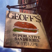 Photo taken at Geoff's Superlative Sandwiches by Nick J. on 8/3/2012