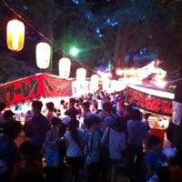 Photo taken at 土支田八幡宮 by Makoto F. on 7/21/2012