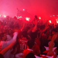 Photo taken at Beira-Rio Stadium by Jorej on 4/5/2012