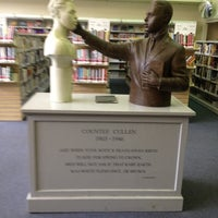 Photo taken at New York Public Library - Countee Cullen by Charles H. on 6/5/2012