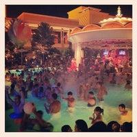 Photo taken at XS Nightclub by Chris L. on 7/23/2012