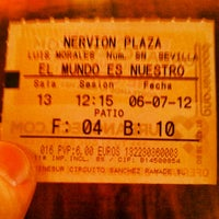 Photo taken at Cines Nervión Plaza by Jorge A. on 7/6/2012