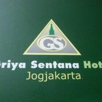Photo taken at Griya Sentana Hotel by Ayyu M. on 6/4/2012