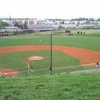 Photo taken at Liberty Christian Baseball Field by Marc P. on 4/5/2012