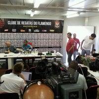 Photo taken at Ninho do Urubu (CT do Flamengo) by Mauricio Y. on 3/9/2012