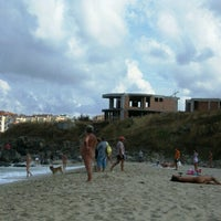 Photo taken at Hermanite Nudist Beach by Nikola V. on 8/17/2012
