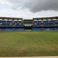 Photo taken at Dr. DY Patil Stadium (डा. डी. वाय. पाटील स्टेडीयम) by Rahul B. on 8/18/2012