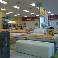 Photo taken at Mattress Firm by Richard B. on 5/27/2012
