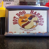 Photo taken at Hot Dog Harbour by Tim B. on 3/5/2012