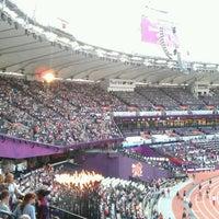 Photo taken at London Stadium by Chris A. on 9/3/2012