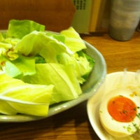 Photo taken at 炭火串焼のお店 串豊 by marsyearmar on 2/10/2012