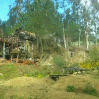 Photo taken at Paintball Campo Do Lobo by Nuria R. on 4/14/2012