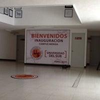 Photo taken at Universidad Del Sur by hcabanas on 2/9/2012