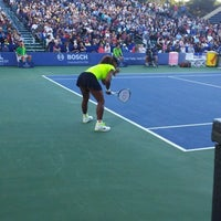 Photo taken at Taube Family Tennis Stadium by Larry N. on 7/15/2012