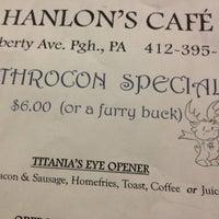 Photo taken at Hanlon's Cafe by Artie on 6/15/2012
