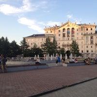 Photo taken at Сквер им. Дзержинского by Ксюня П. on 7/5/2012