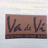 Photo taken at Va de Vi Bistro & Wine Bar by Geystres on 7/14/2012