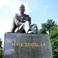 Photo taken at Hviezdoslav Square by Paul S. on 8/7/2012