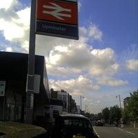 Photo taken at Upminster Railway Station (UPM) by Steve C. on 6/13/2012
