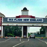 Photo taken at Six Flags New England by Shawna K. on 8/11/2012