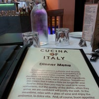 Photo taken at Cucina Of Italy by Melí A. on 8/29/2012