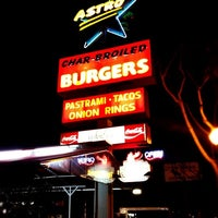 Photo taken at Astro Burger by Jason D. on 5/15/2012