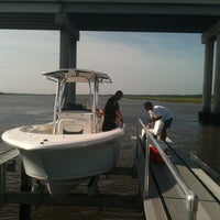 Photo taken at St Johns Yacht Harbor by Keri S. on 8/11/2012