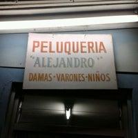 Photo taken at Peluquería Alejandro by ★ ManuDroid ★ on 4/21/2012
