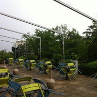 Photo taken at P&G Ground Floor Terrace by Fabio M. on 6/8/2012