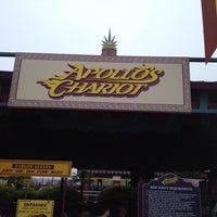 Photo taken at Apollo's Chariot - Busch Gardens by Robert Z. on 3/25/2012