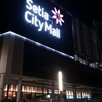 Photo taken at Setia City Mall by Faizal W. on 5/27/2012