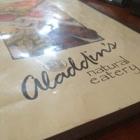 Photo taken at Aladdin's Natural Eatery by Locy C. on 2/16/2012