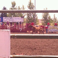 Photo taken at Vancouver Rodeo by Cheyla B. on 7/4/2012