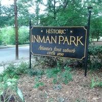 Foto tomada en Inman Park por Karen A. el 5/11/2012