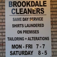 Photo taken at Brookdale Dry Cleaners Inc by Mark P. on 3/21/2012
