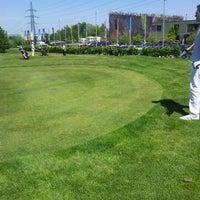 Photo taken at Golf Hostivař by Jan K. on 5/19/2012