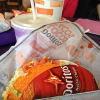 Photo taken at Taco Bell by Janet M. on 4/12/2012