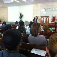 Photo taken at Assembleia De Deus Na Itaoca by Jesiel A. on 5/5/2012
