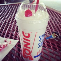 Photo taken at Sonic Drive-In by AJT on 7/1/2013
